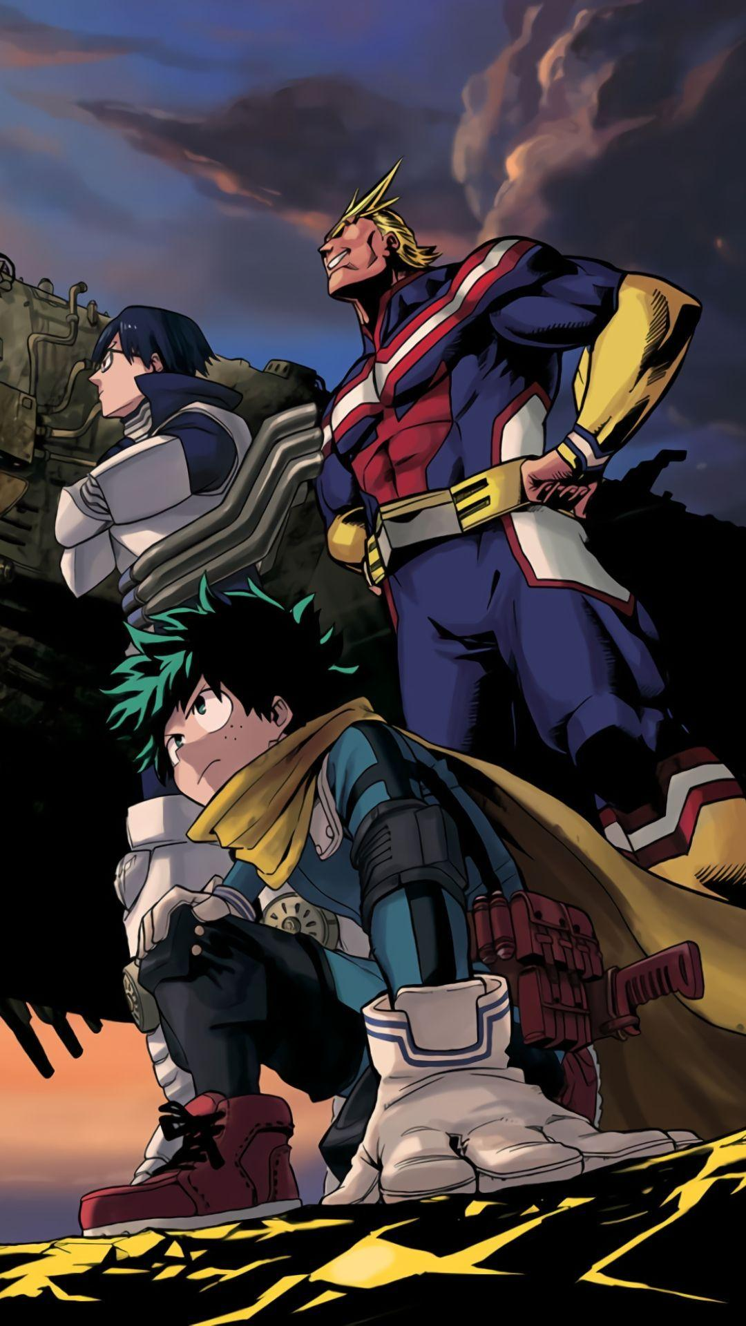 Follow the vibe and change your wallpaper every day! MHA Aesthetic Wallpapers - Wallpaper Cave