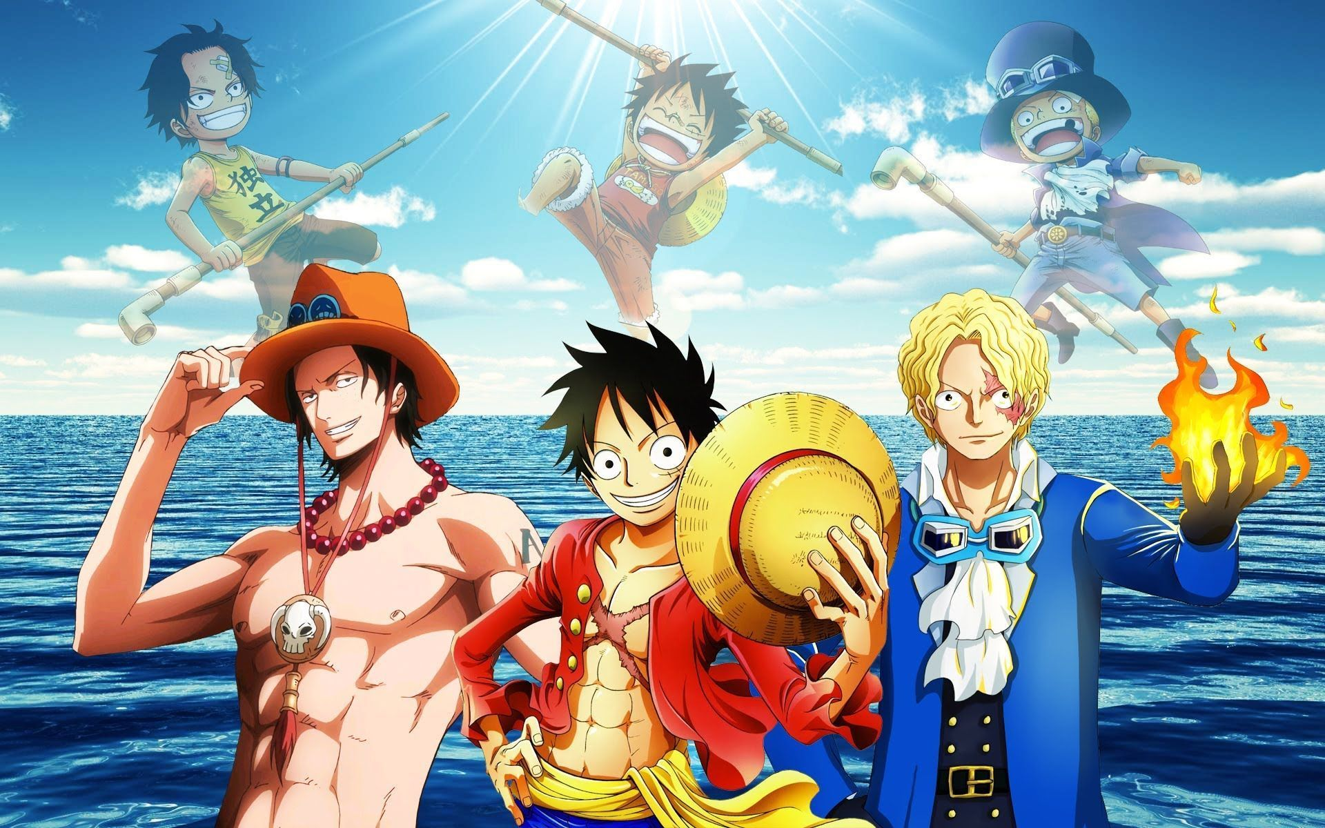 Welcome to r/onepiece, the community for eiichiro oda's manga and anime series one … Luffy, Ace And Sabo One Piece Team Wallpapers - Wallpaper Cave