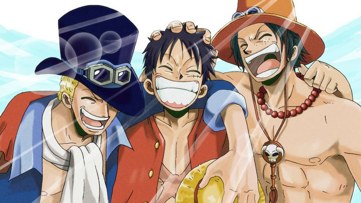 Browse for more hd, 4k,. Luffy, Ace And Sabo One Piece Team Wallpapers - Wallpaper Cave