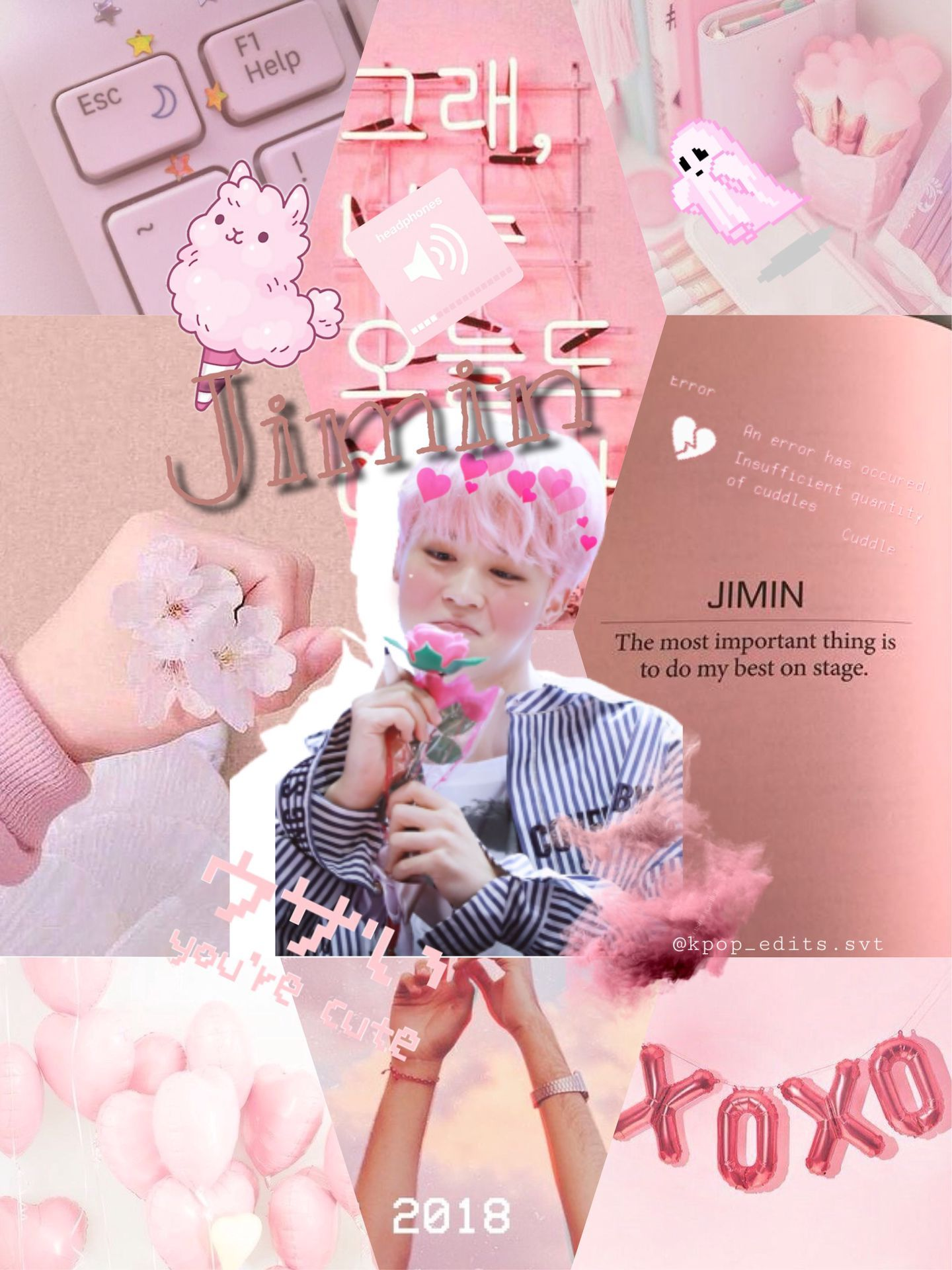 Pastel wallpapers free hd download 500 hq unsplash. Jimin Aesthetic Pink Wallpapers - Wallpaper Cave