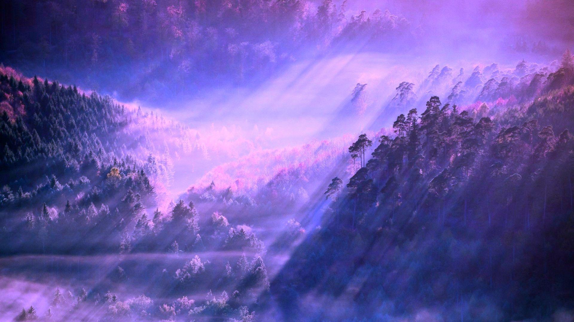 1366x768 aesthetic anime wallpaper laptop hd. Purple Aesthetic PC HD Wallpapers - Wallpaper Cave