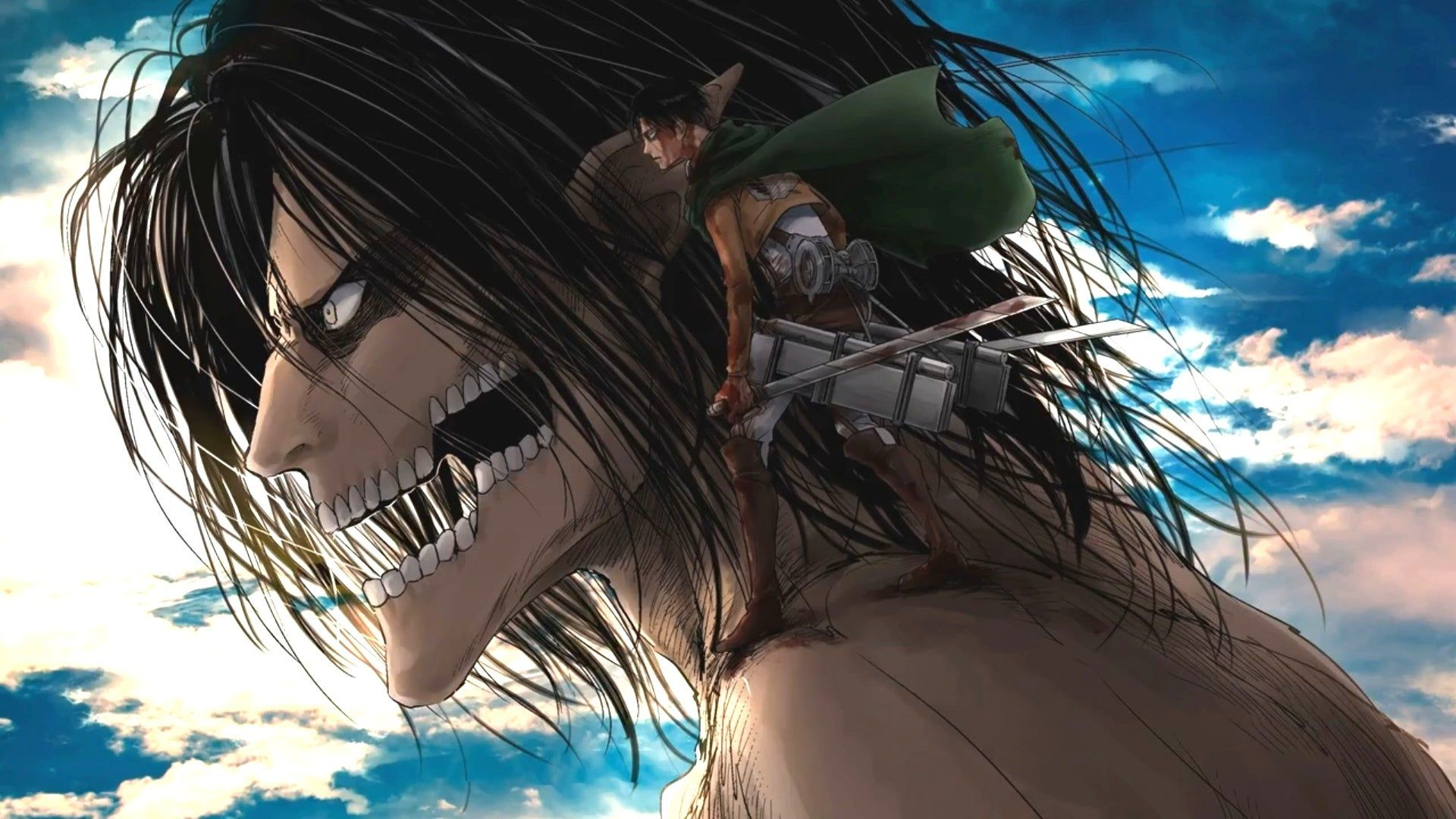Enjoy our curated selection of 704 eren yeager wallpapers and backgrounds from animes like attack on titan and attack on titan: Titan Eren Berserk Wallpapers - Wallpaper Cave