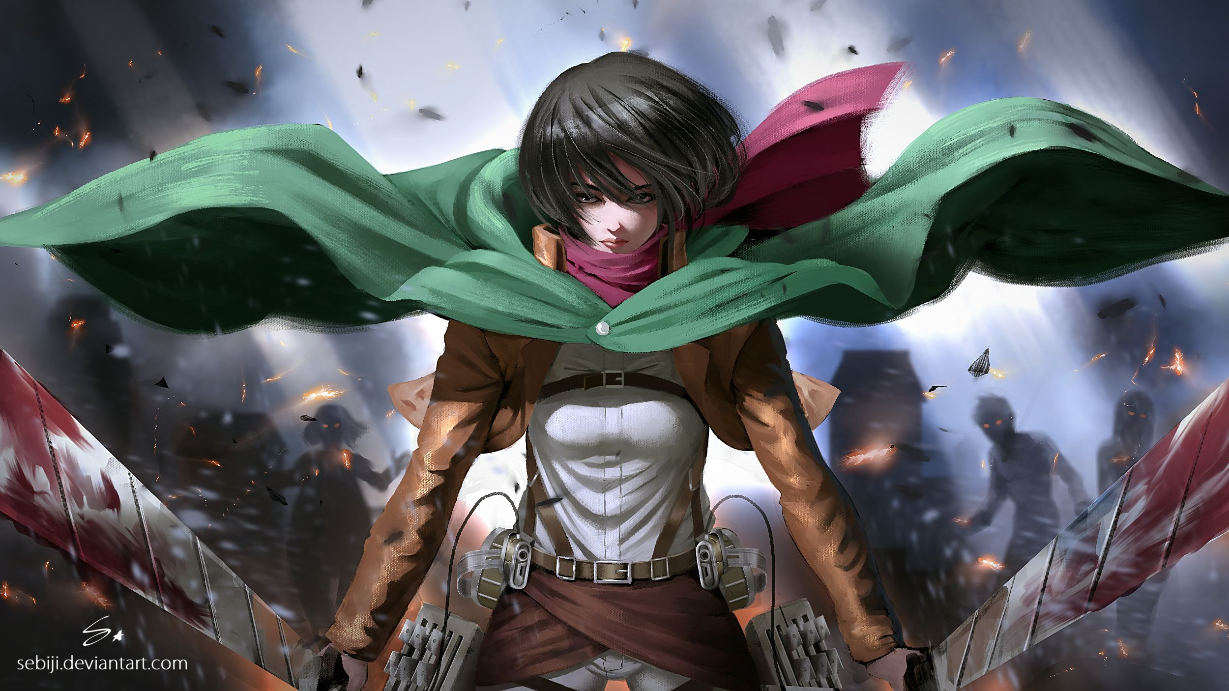 Make it easy with our tips on application. Anime Attack On Titan Mikasa Wallpapers - Wallpaper Cave