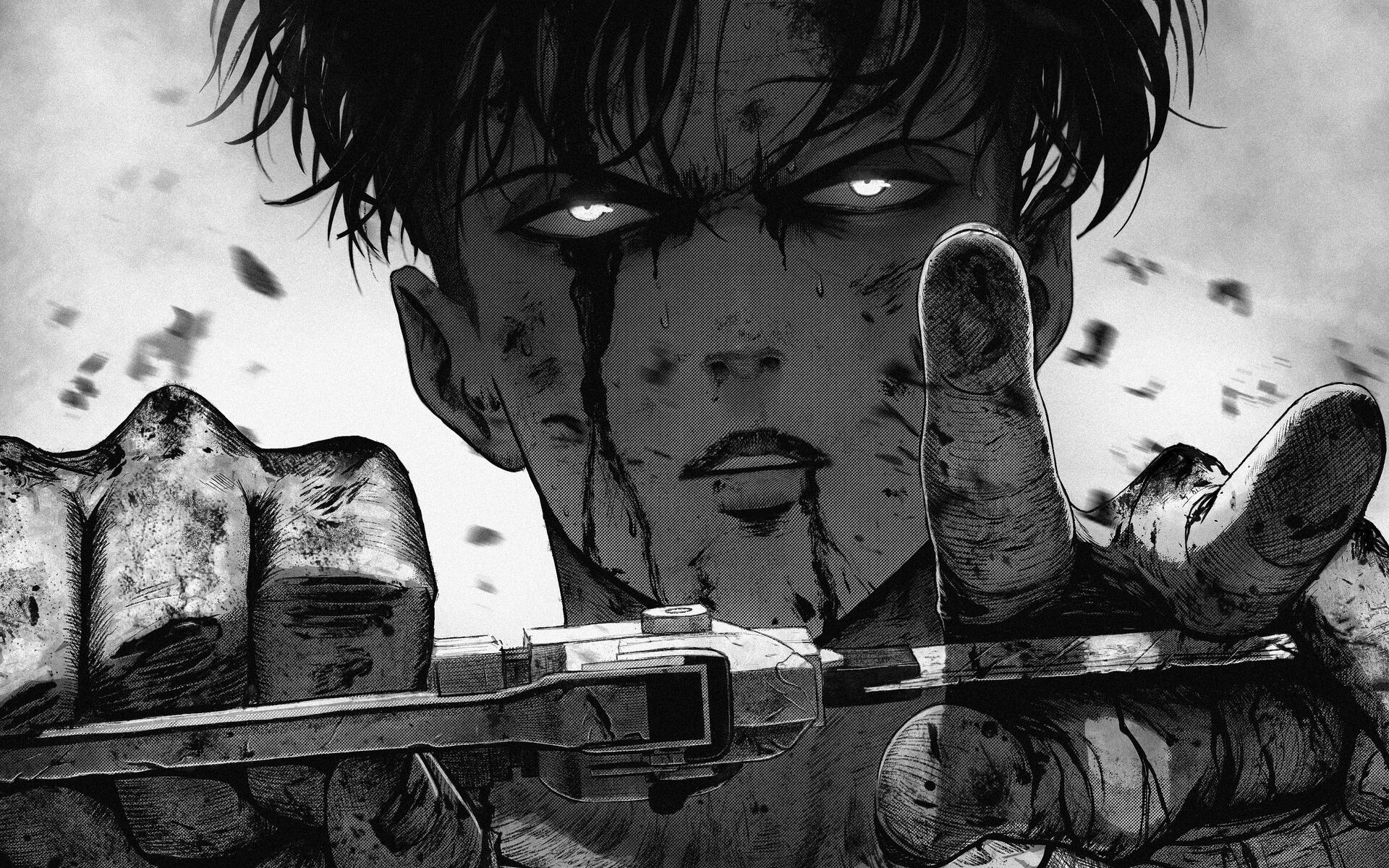 Here are some of the attack on titan characters that have to go now. Attack On Titan Aesthetic Wallpapers - Wallpaper Cave