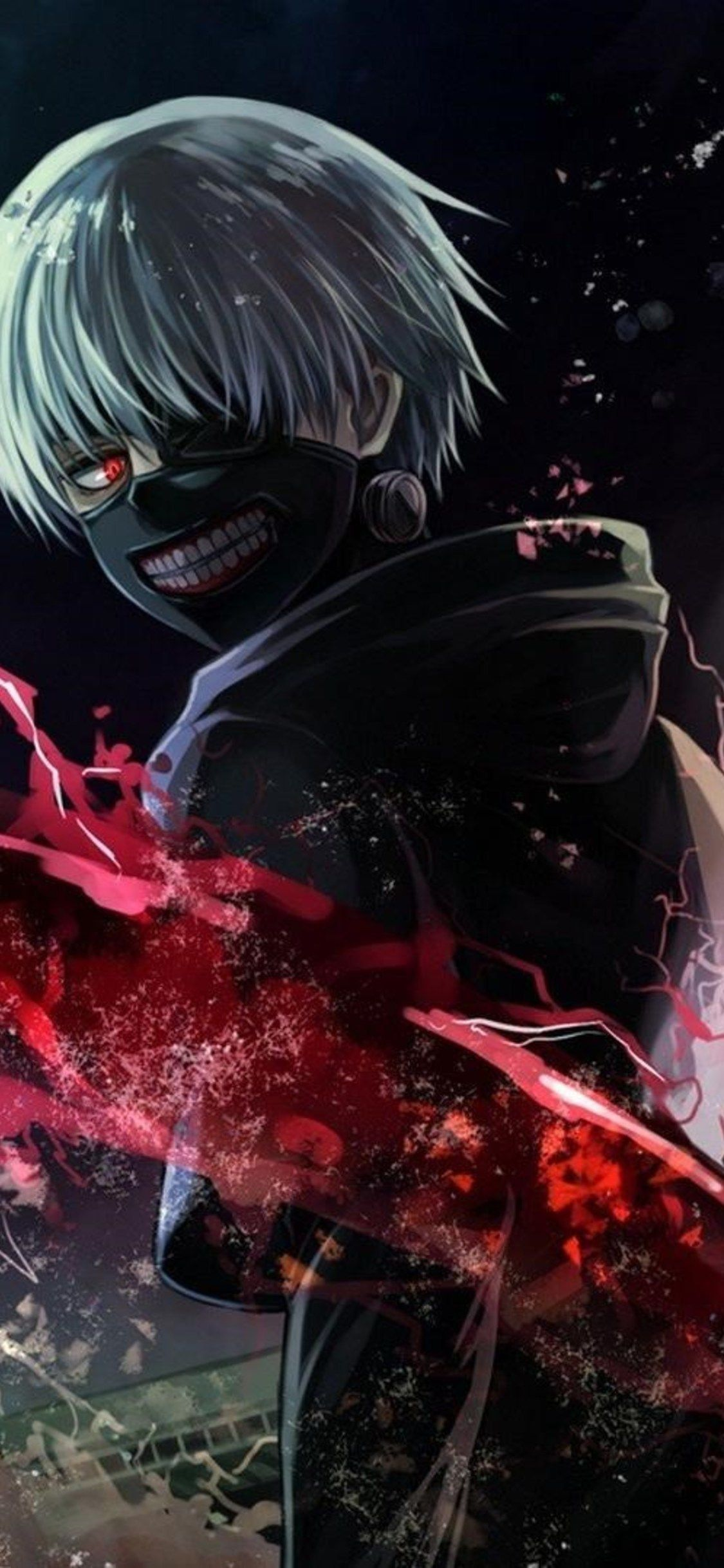 Unique tokyo ghoul designs on hard and soft cases and covers for iphone 13, 12, se, 11, iphone xs, iphone x, iphone 8, & more. Tokyo Ghoul Mobile Wallpapers - Wallpaper Cave