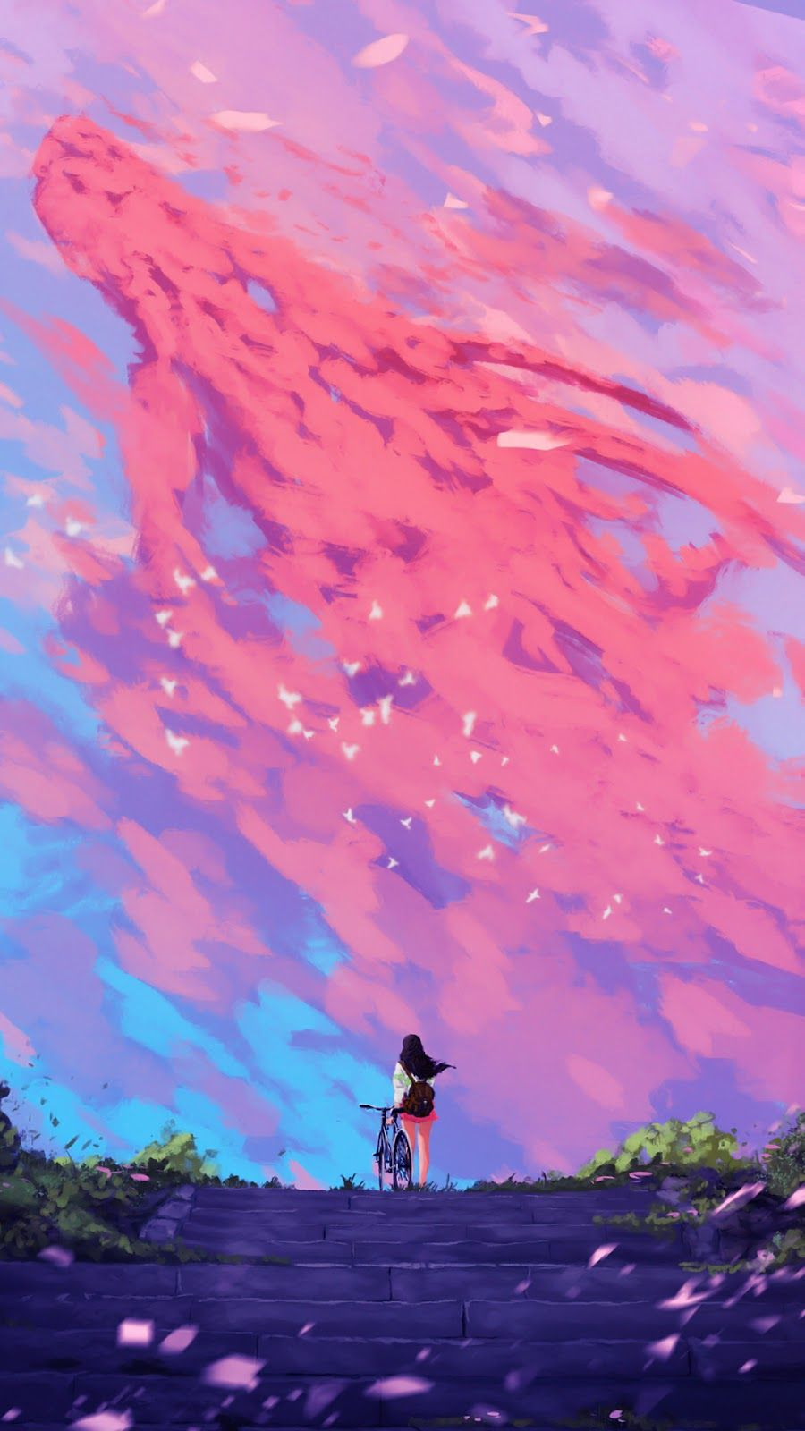 Anime Aesthetic Phone Wallpapers Wallpaper Cave