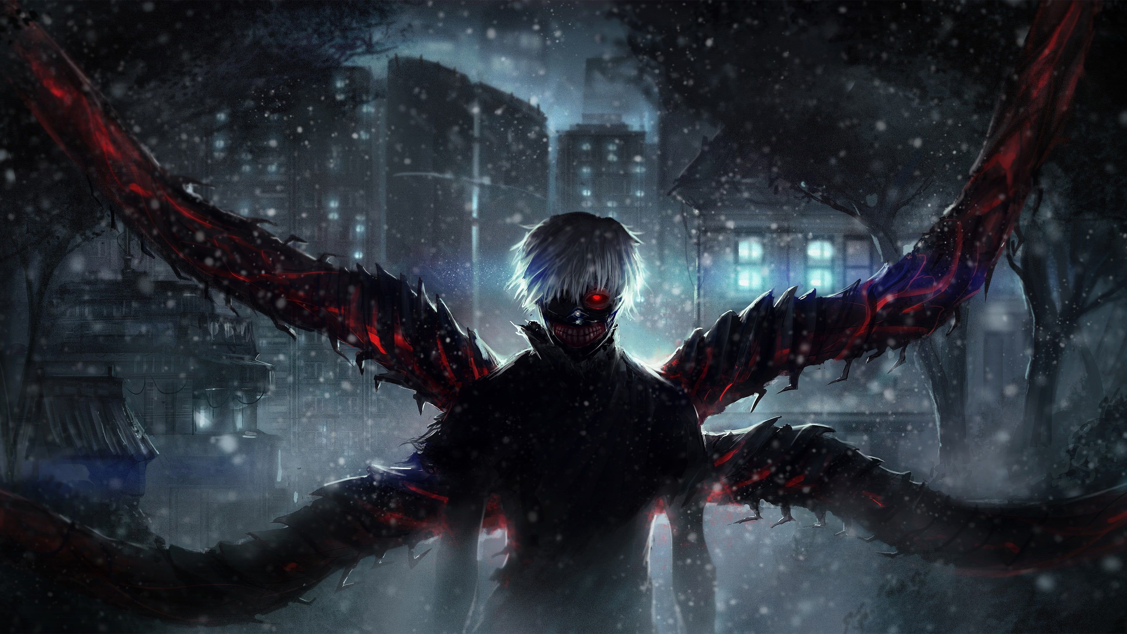 Japanese animation (known as anime in the west) has gone from a niche, geeky interest to a mainstream juggernaut enjoyed by people all over the world. Nice Tokyo Ghoul Anime 4k Wallpapers - Wallpaper Cave