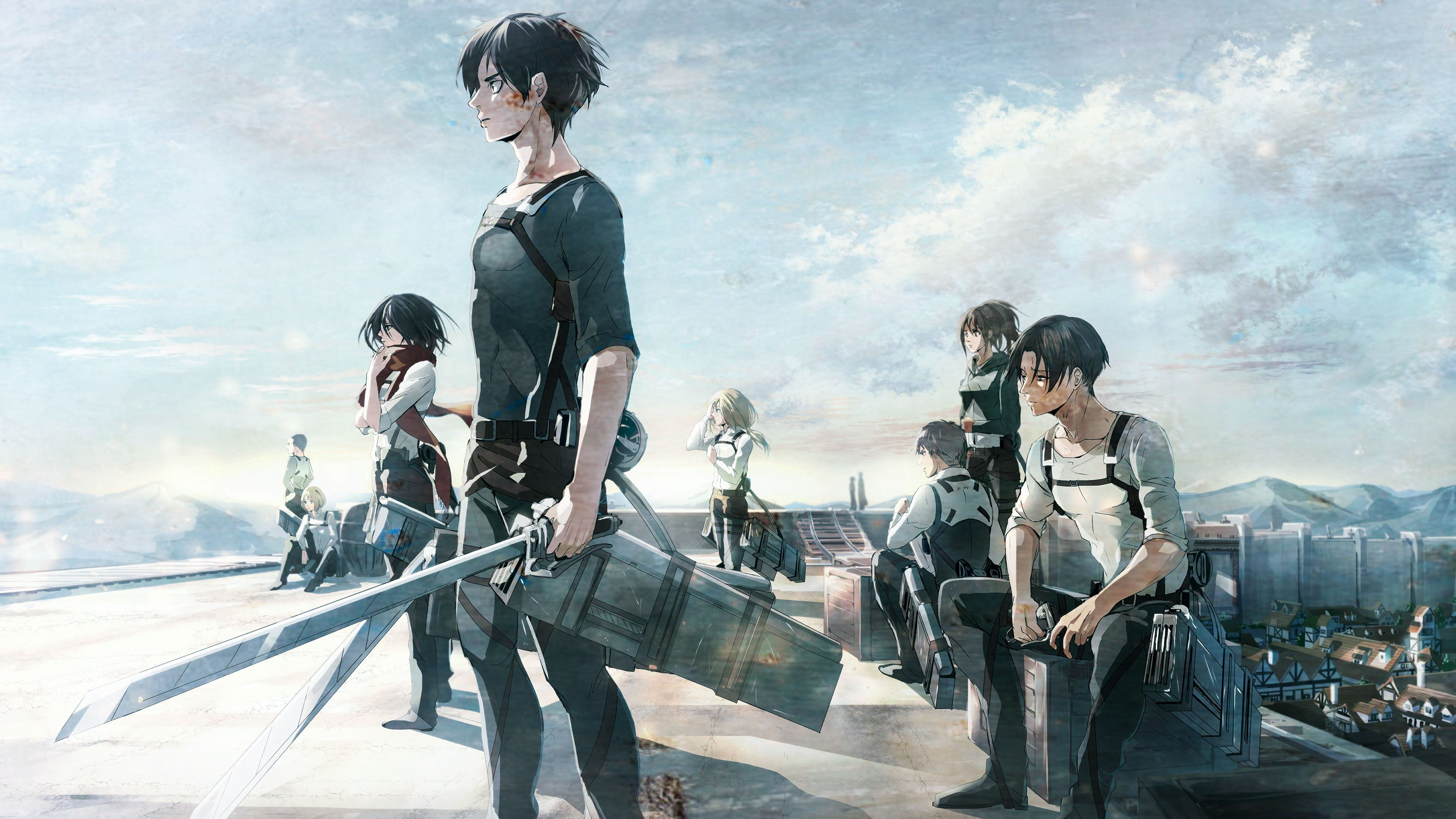 Advertisement platforms categories 0.1042015 user rating6 1/2 zip into the world of the popular ani. Attack On Titans Season 4 Wallpapers - Wallpaper Cave