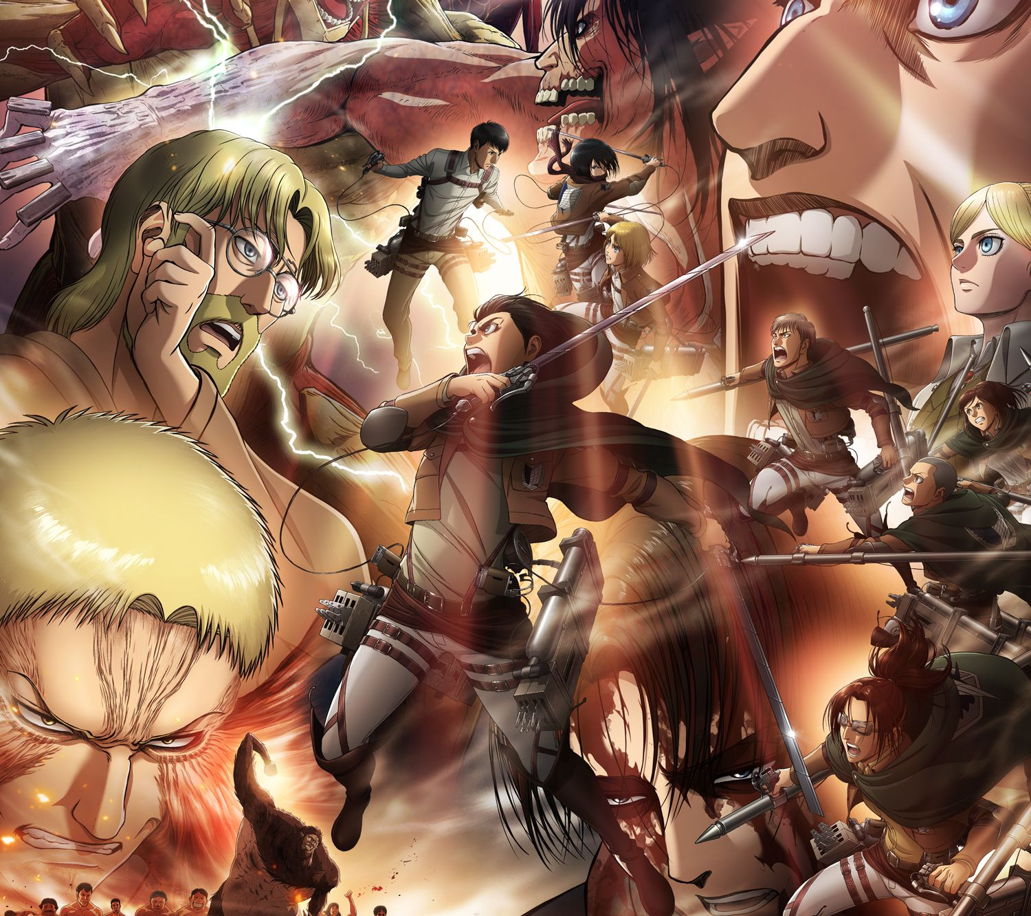 The tv adaptation of hajime isayama's critically acclaimed manga series attack on titan is one of the most popular shows among anime fans. AoT Desktop Season 4 Wallpapers - Wallpaper Cave