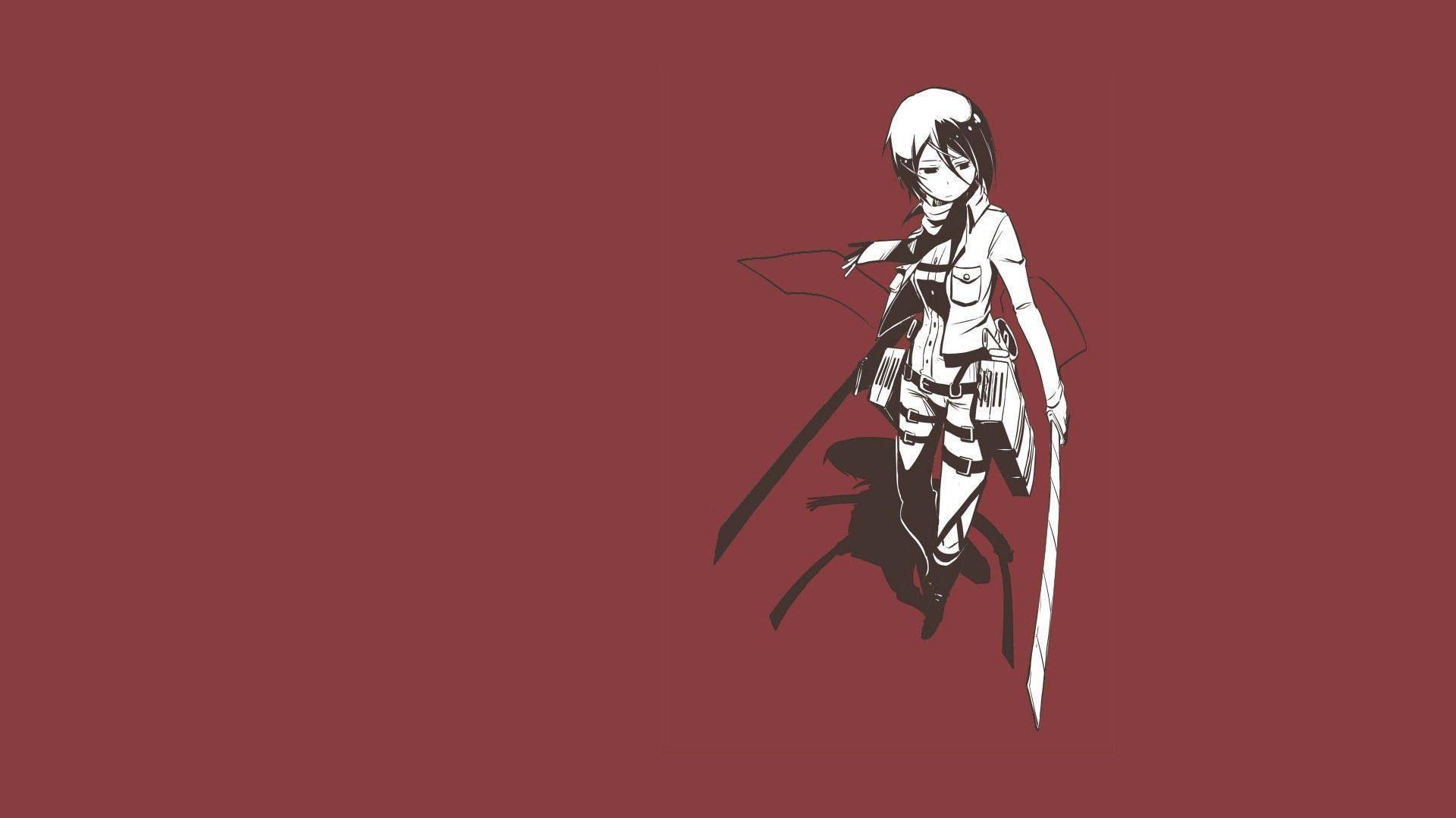 Posted in anime wallpaper brand wallpaper minimalism wallpapers tv shows wallpaper. Attack On Titan Minimalist PC Wallpapers - Wallpaper Cave