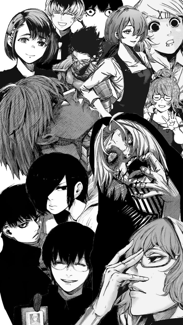 Show off your style with artwork and trending designs from independent artists across the. Tokyo Ghoul Manga Wallpapers - Wallpaper Cave