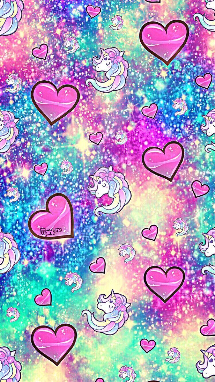 Wallpaper Cave Sparkle Glitter Unicorn Wallpaper Novocom Top