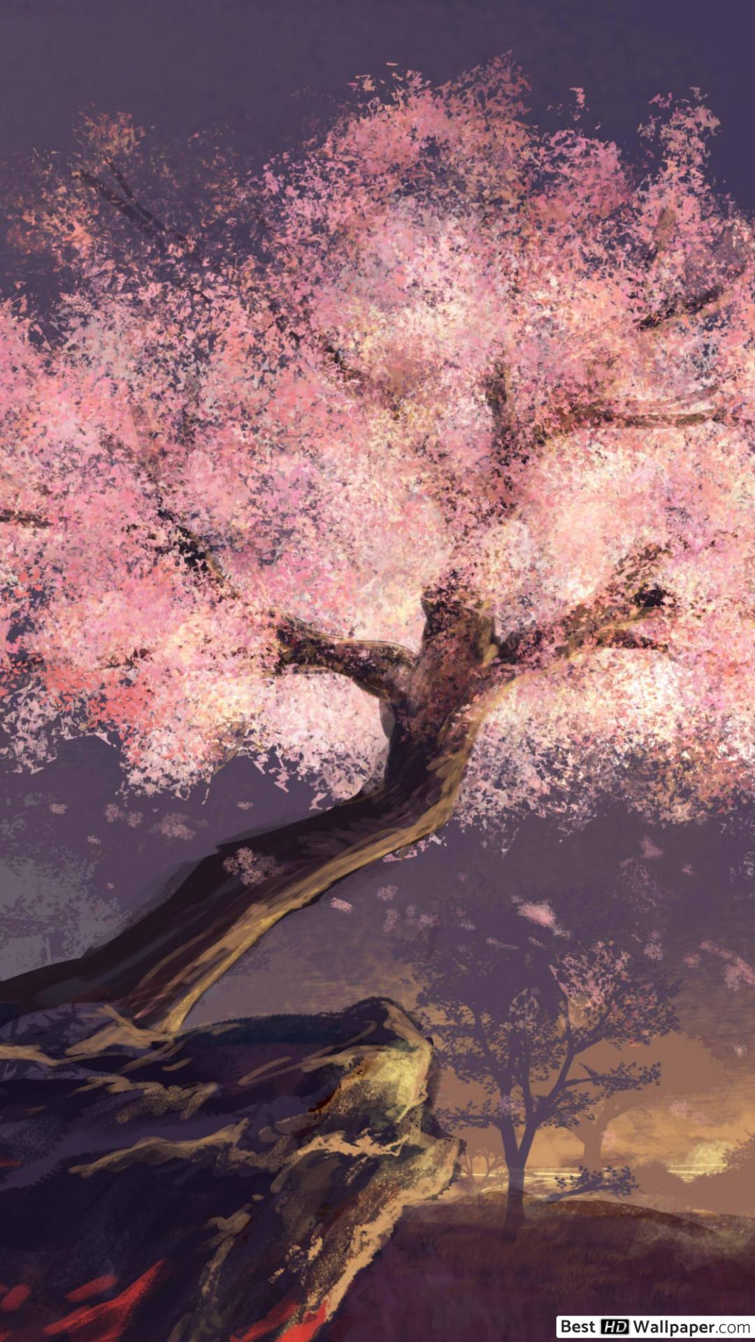 Blossom Tree Anime Wallpapers Wallpaper Cave