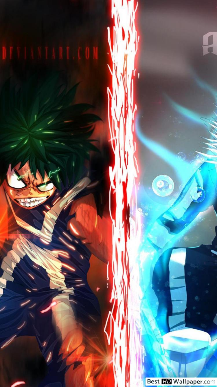 Get galaxy s21 ultra 5g with unlimited plan! Todoroki iPhone My Hero Academia Wallpapers - Wallpaper Cave