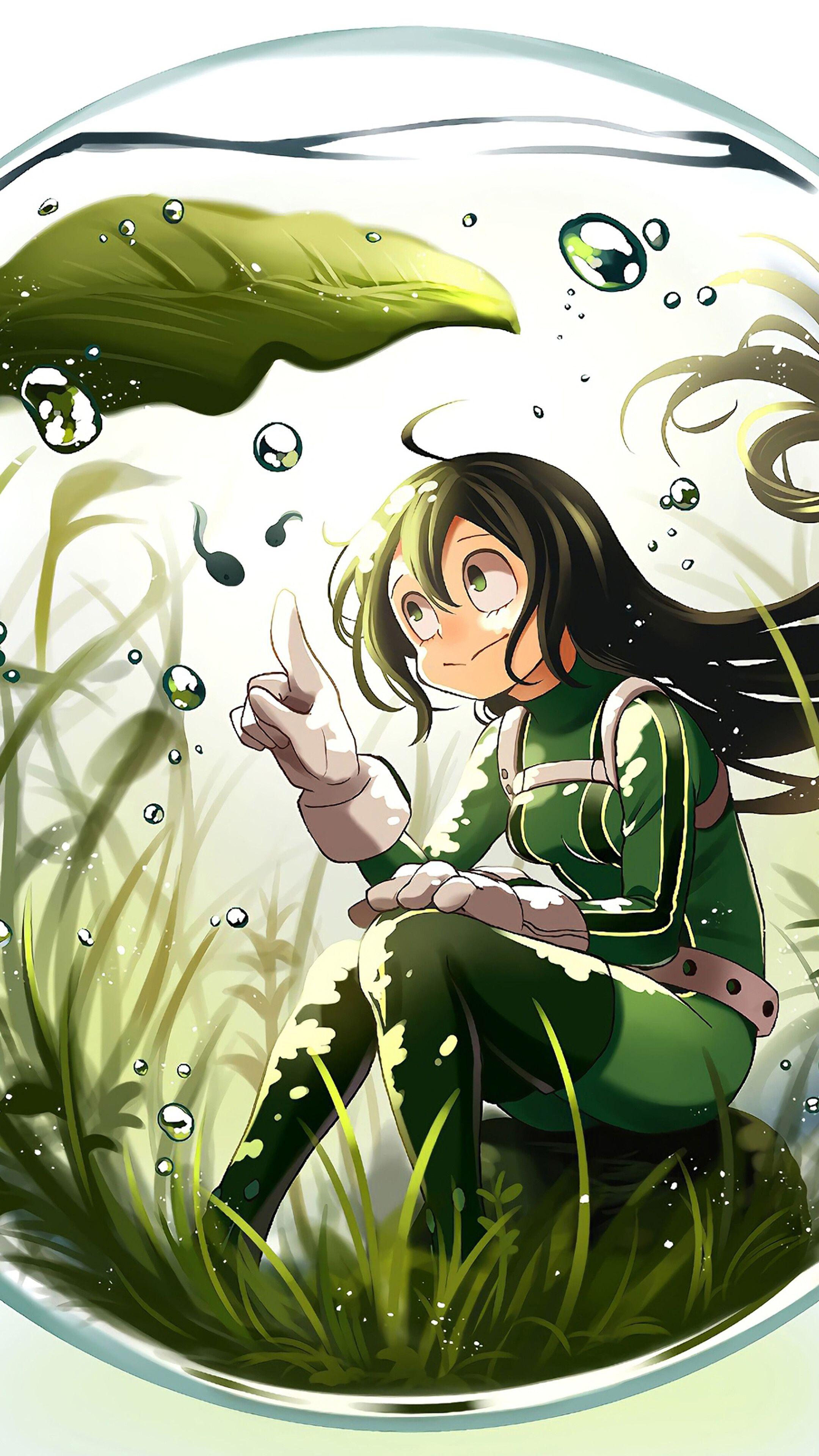 Tsuyu asui, froppy, 僕のヒーローアカデミア, my hero academia, boku no hero academia, anime 4k wallpaper. My Hero Academia Froppy Wallpapers - Wallpaper Cave