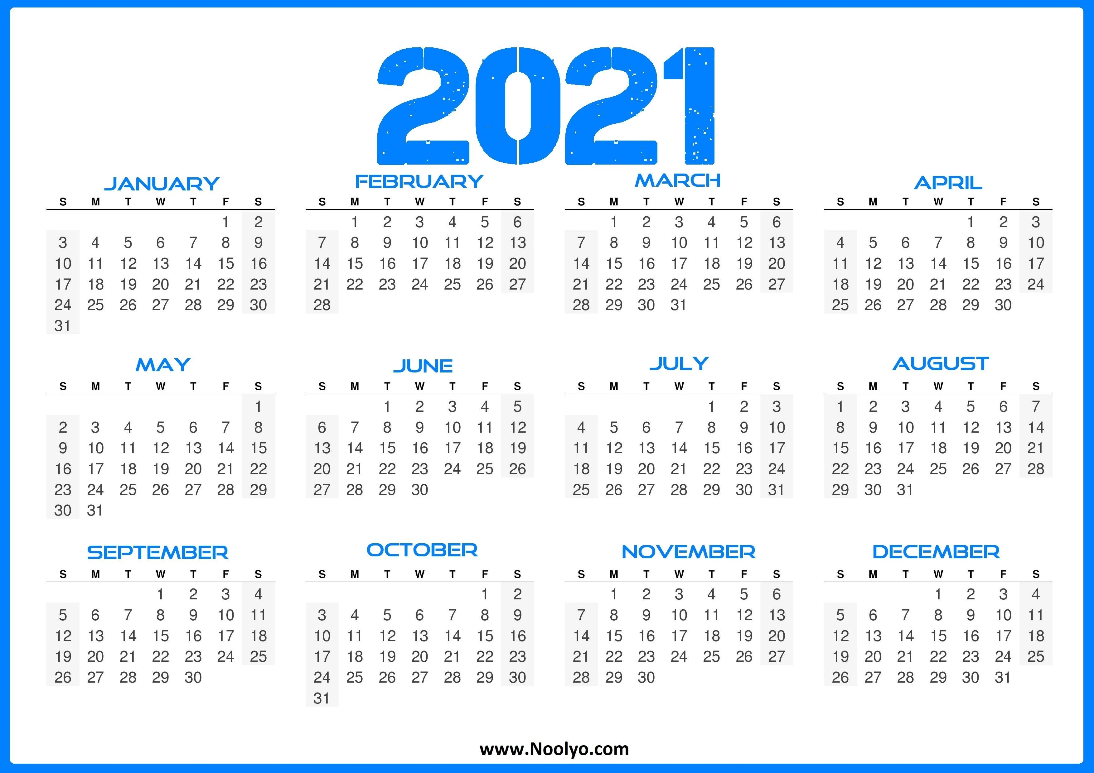 Download monthly & weekly printable calendars for 2021 — … Calendar 2021 Wallpapers - Wallpaper Cave