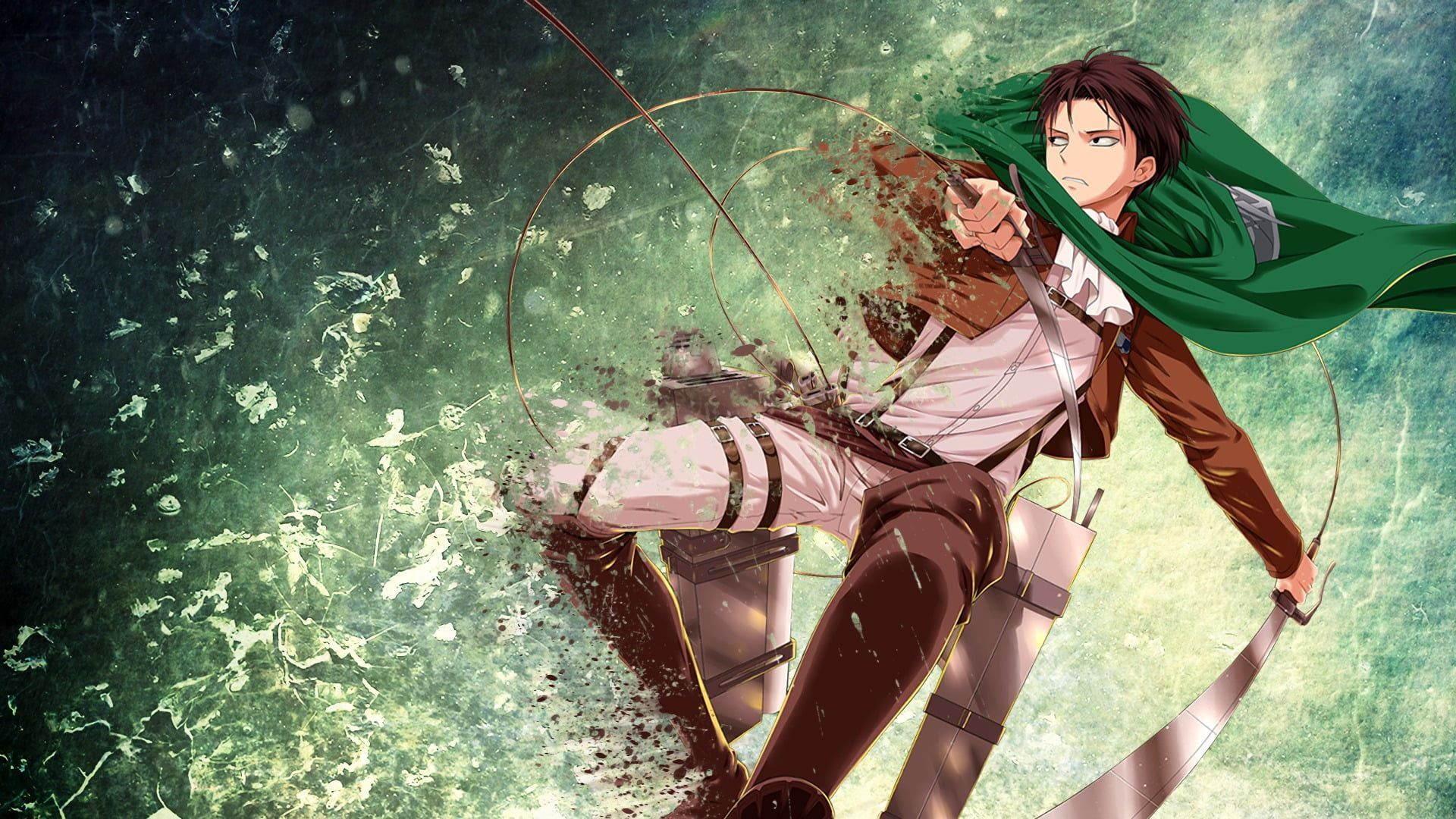 Acan 8 sheet/set poster japanese classic anime attack on titan cosplay diy paper wall sticker allen levi ackerman wallpaper. Attack On Titan Levi Anime Wallpapers - Wallpaper Cave