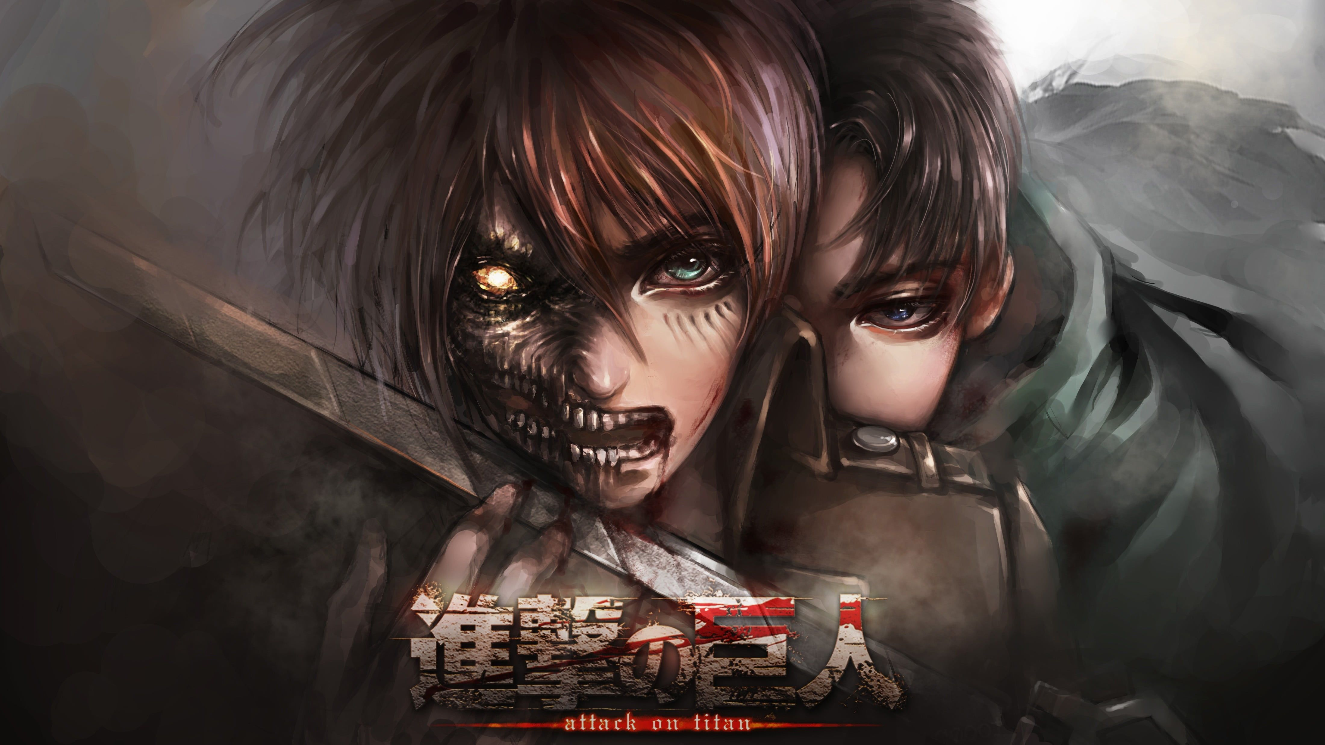 Advertisement platforms categories 0.1042015 user rating6 1/2 zip into the world of the popular ani. Attack On Titan Season 4 Desktop Wallpapers - Wallpaper Cave