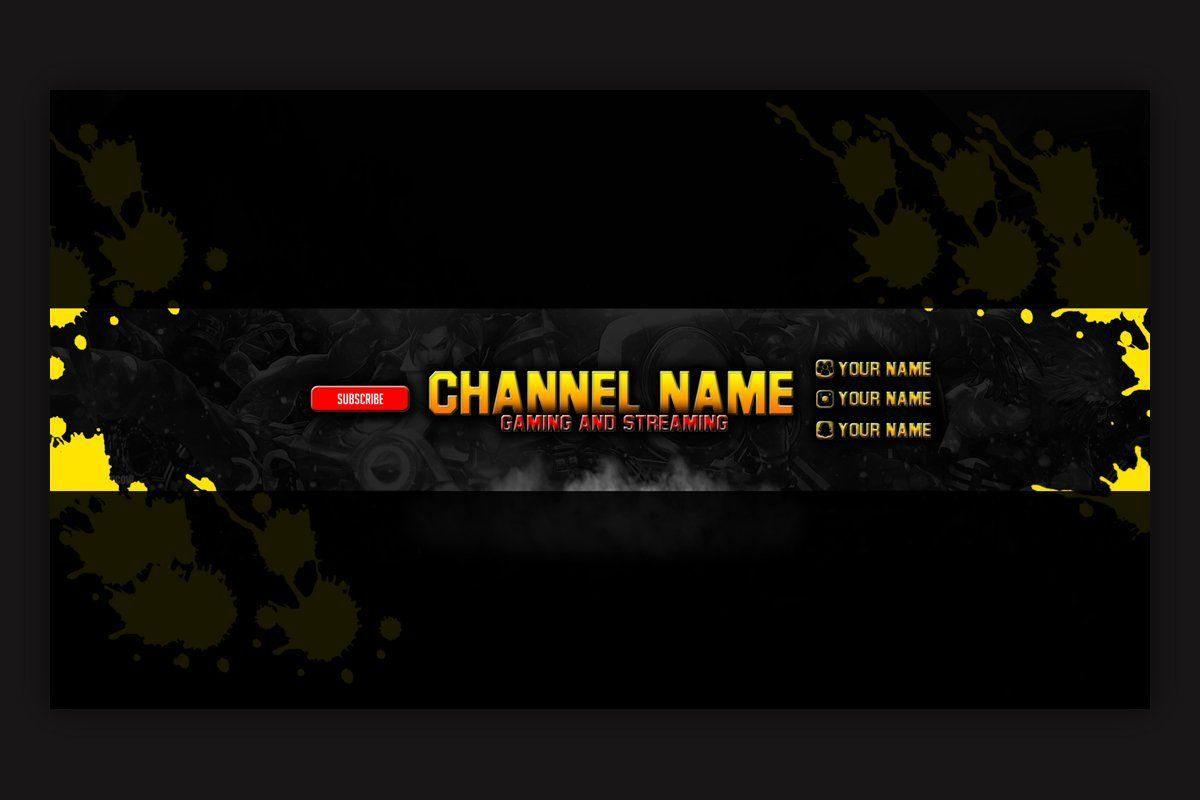 We design youtube banner templates that you can pick and run. Youtube Banner Pubg Wallpapers Wallpaper Cave