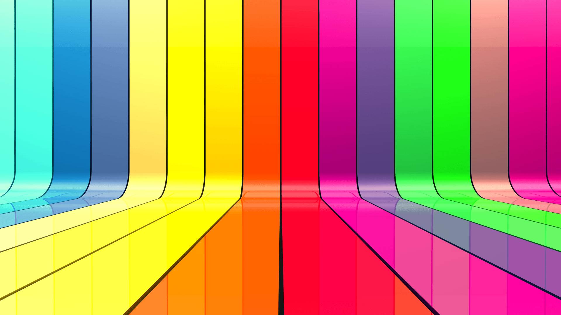Image result for coloured 3d ribbons