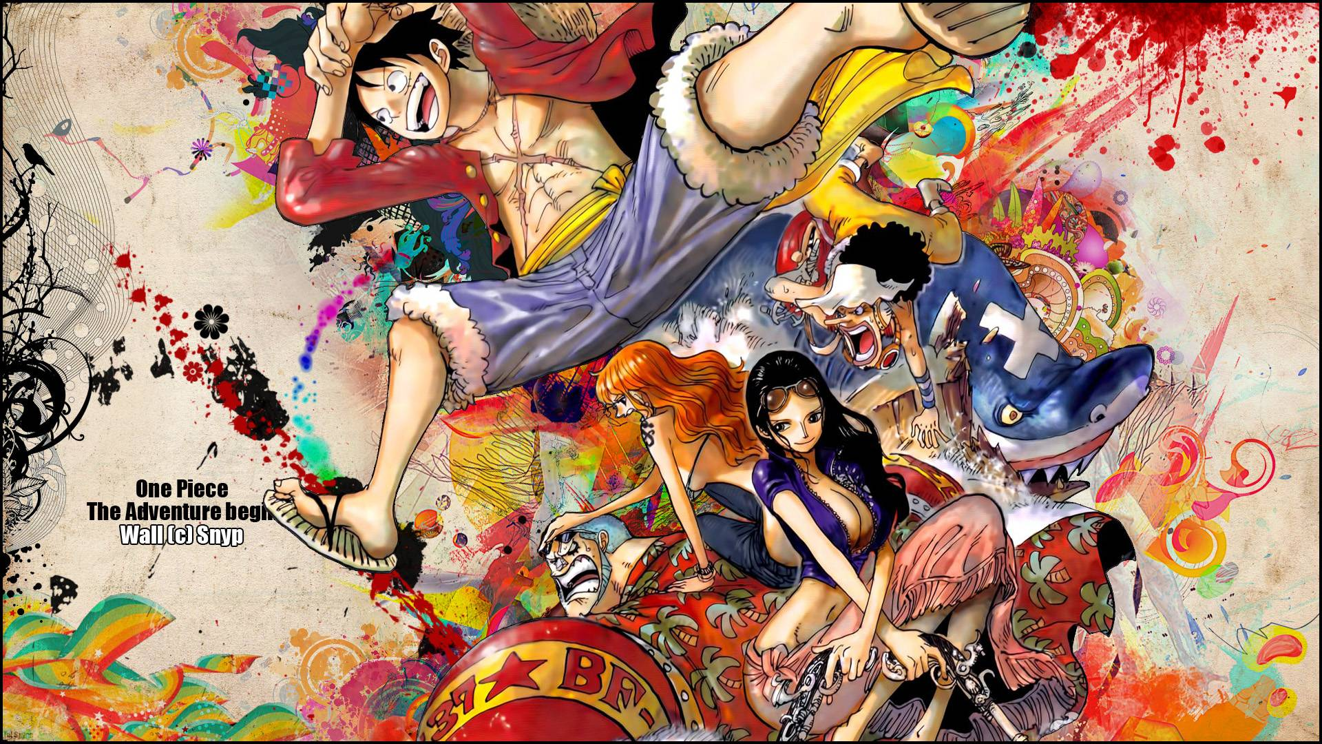 Sizing also makes later remov. One Piece Wallpapers - Wallpaper Cave