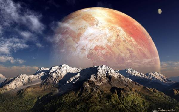 Alien Planet Wallpapers - Wallpaper Cave