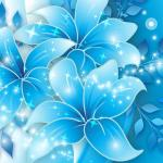 Blue Flower Wallpapers Wallpaper Cave