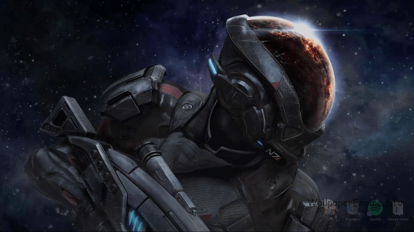 Mass Effect Andromeda - Wallpaper Engine