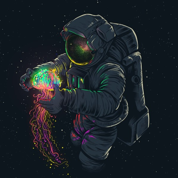 Живые обои Spaceman - Wallpaper Engine