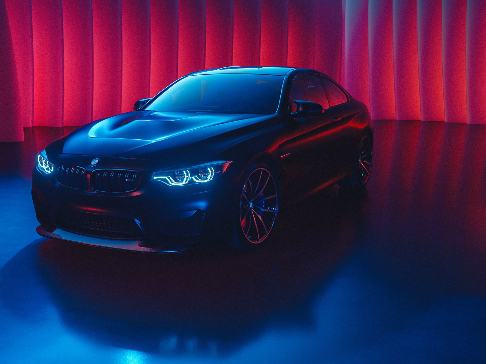 The wallpaper trend is going strong. Black Bmw Sedan Bmw M4 Car Cyan Blue Red Glowing Black Cars Wallpaper Wallpaper For You Hd Wallpaper For Desktop Mobile