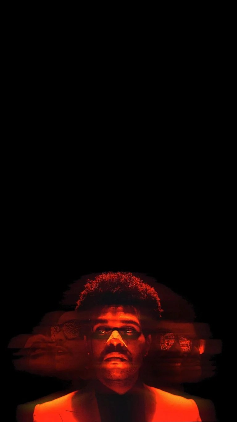 Images have the power to move your emotions like few things in life. Amoled wallpaper, The Weeknd, vertical, iPhone • Wallpaper