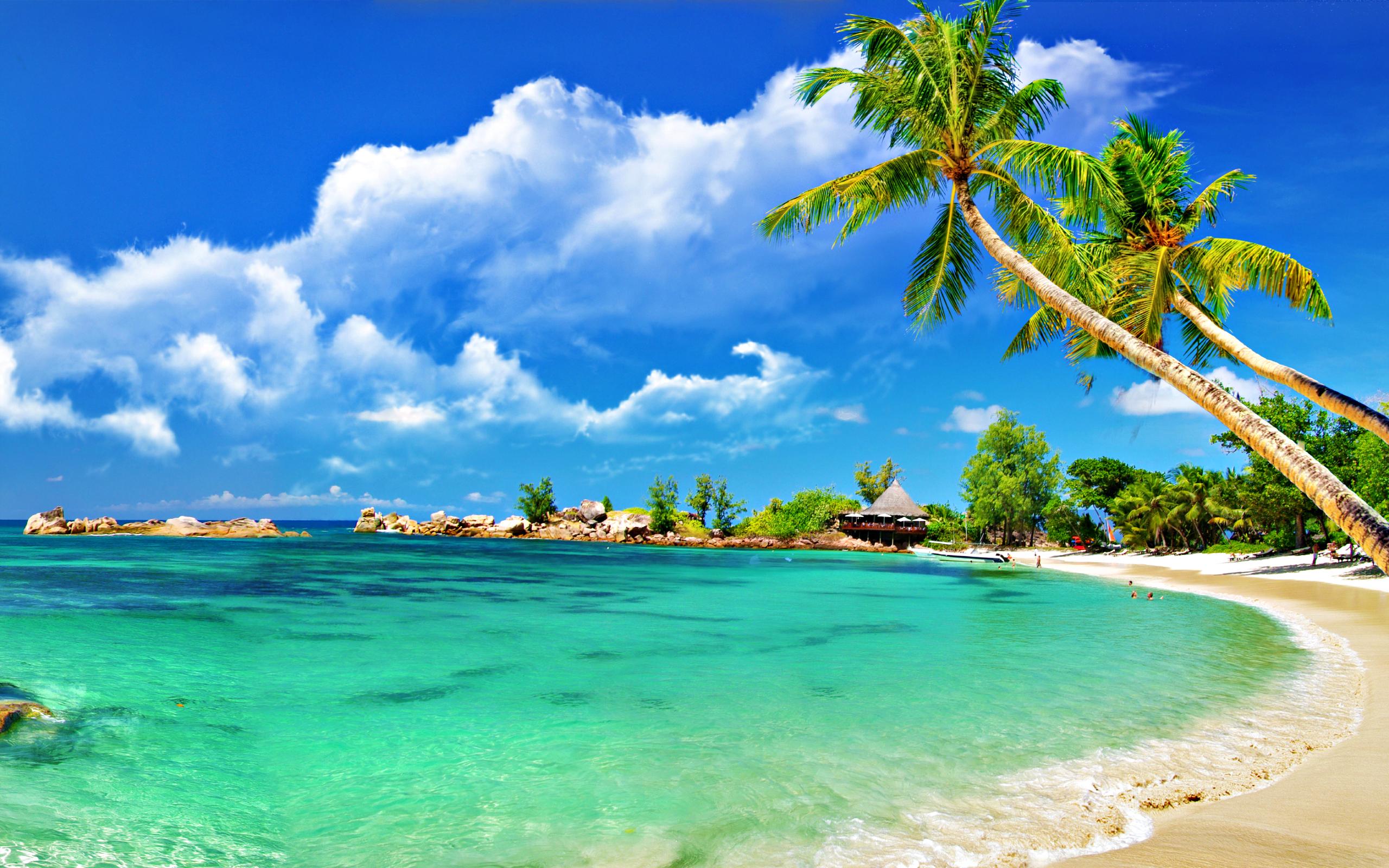 Tropical Beaches Desktop Wallpaper