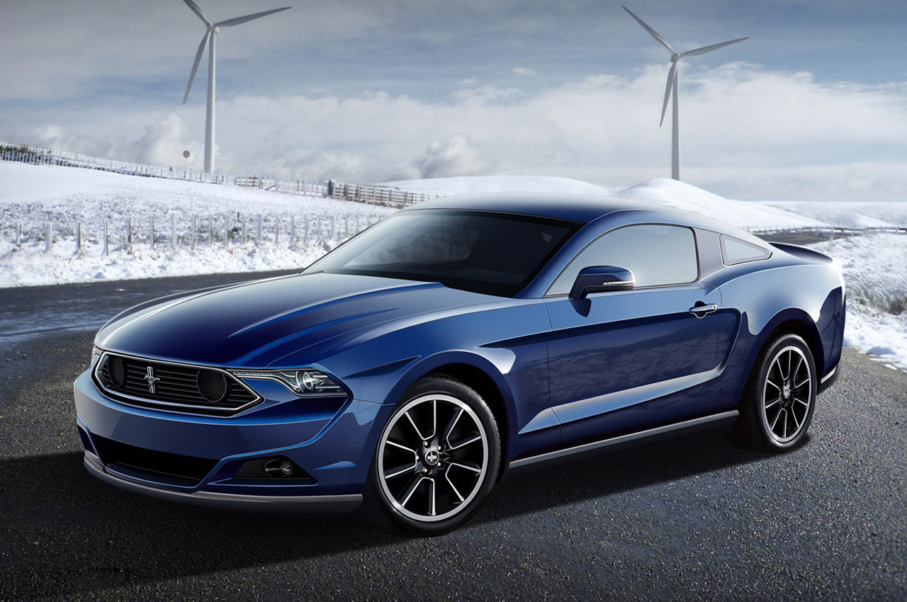 Blue Ford Mustang Wide Wallpaper Wallpaper WallpaperLepi