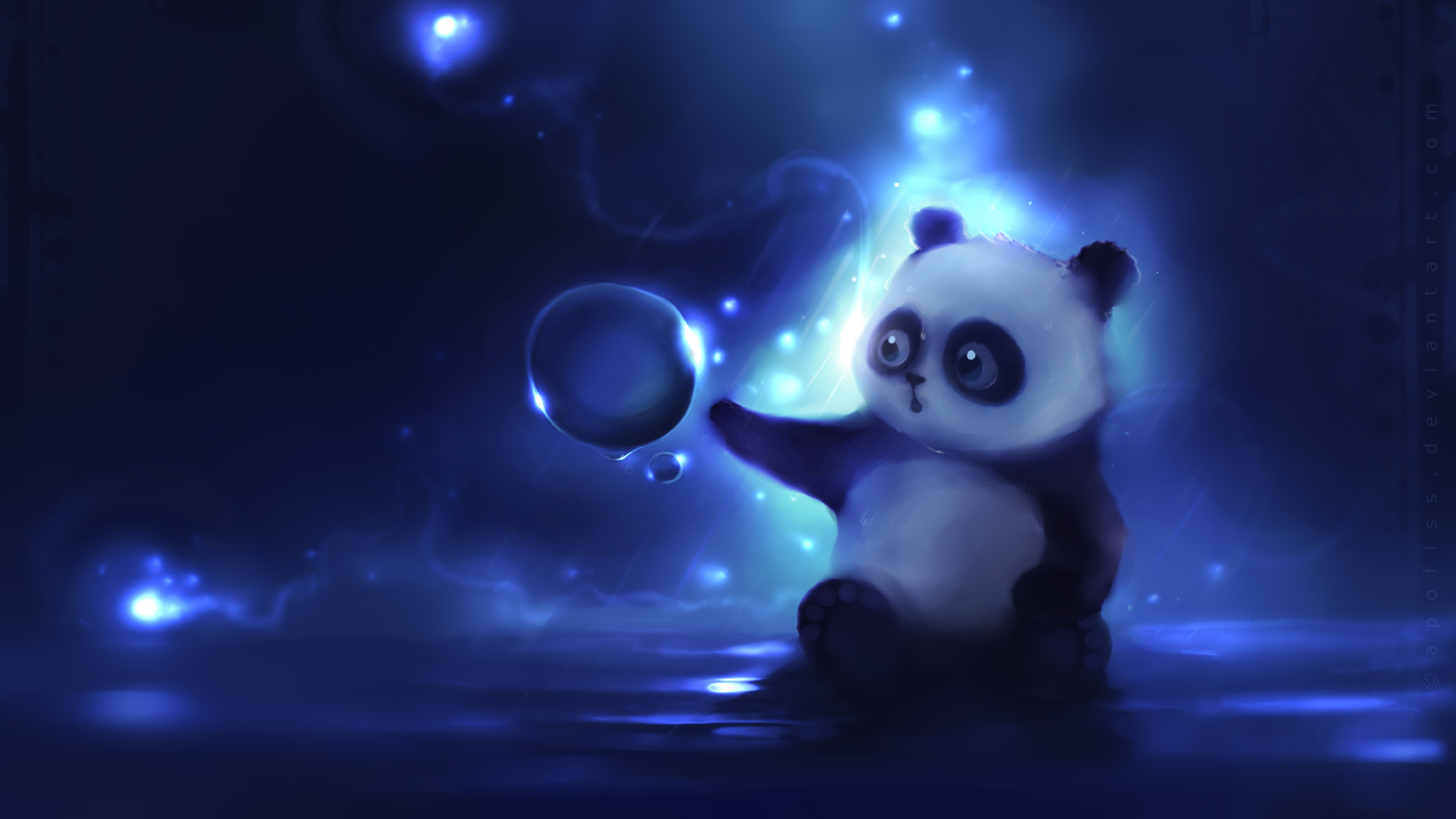 Cute Baby Panda Wallpaper Hd Wallpaperlepi