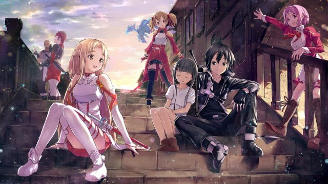 Awesome Sword Art Online Sao Free Wallpaper Id180701 For Full Hd Desktop