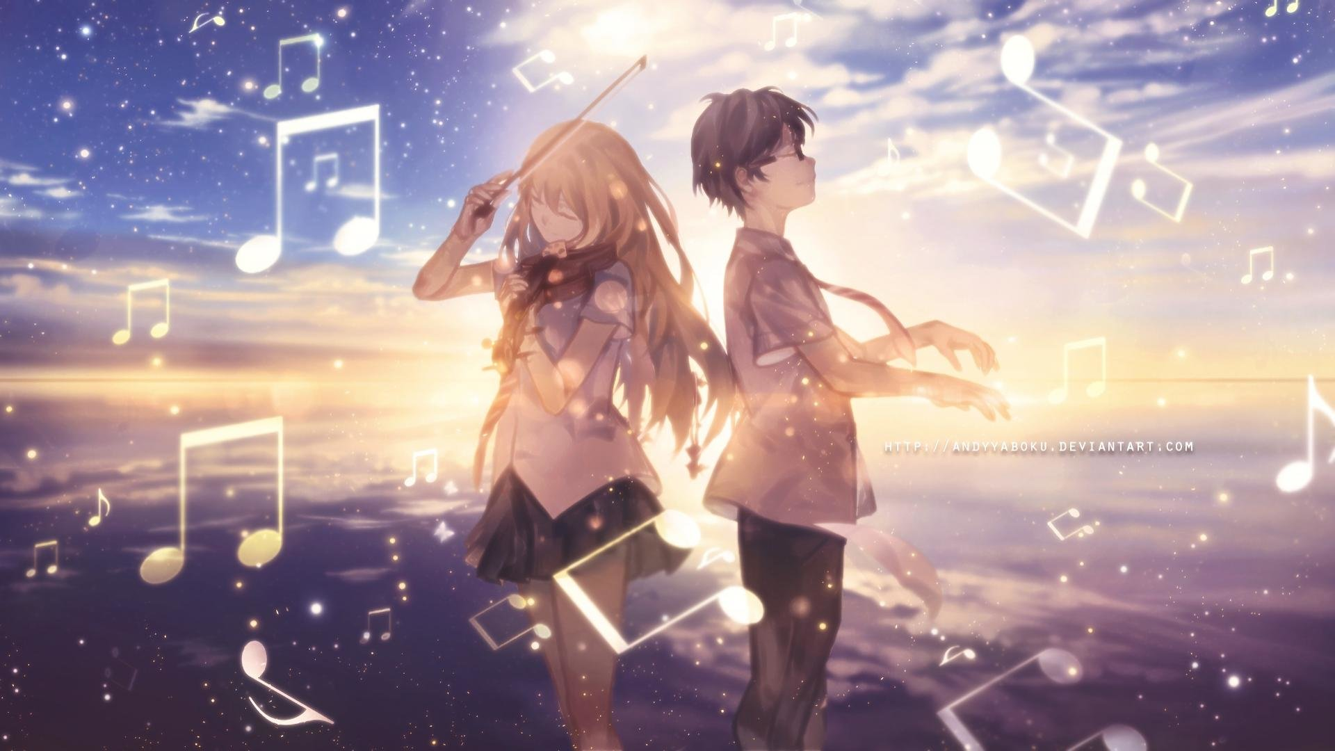 Zerochan anime image gallery for shigatsu wa kimi no uso (your lie in april), wallpaper. Your Lie In April wallpapers 1920x1080 Full HD (1080p ...