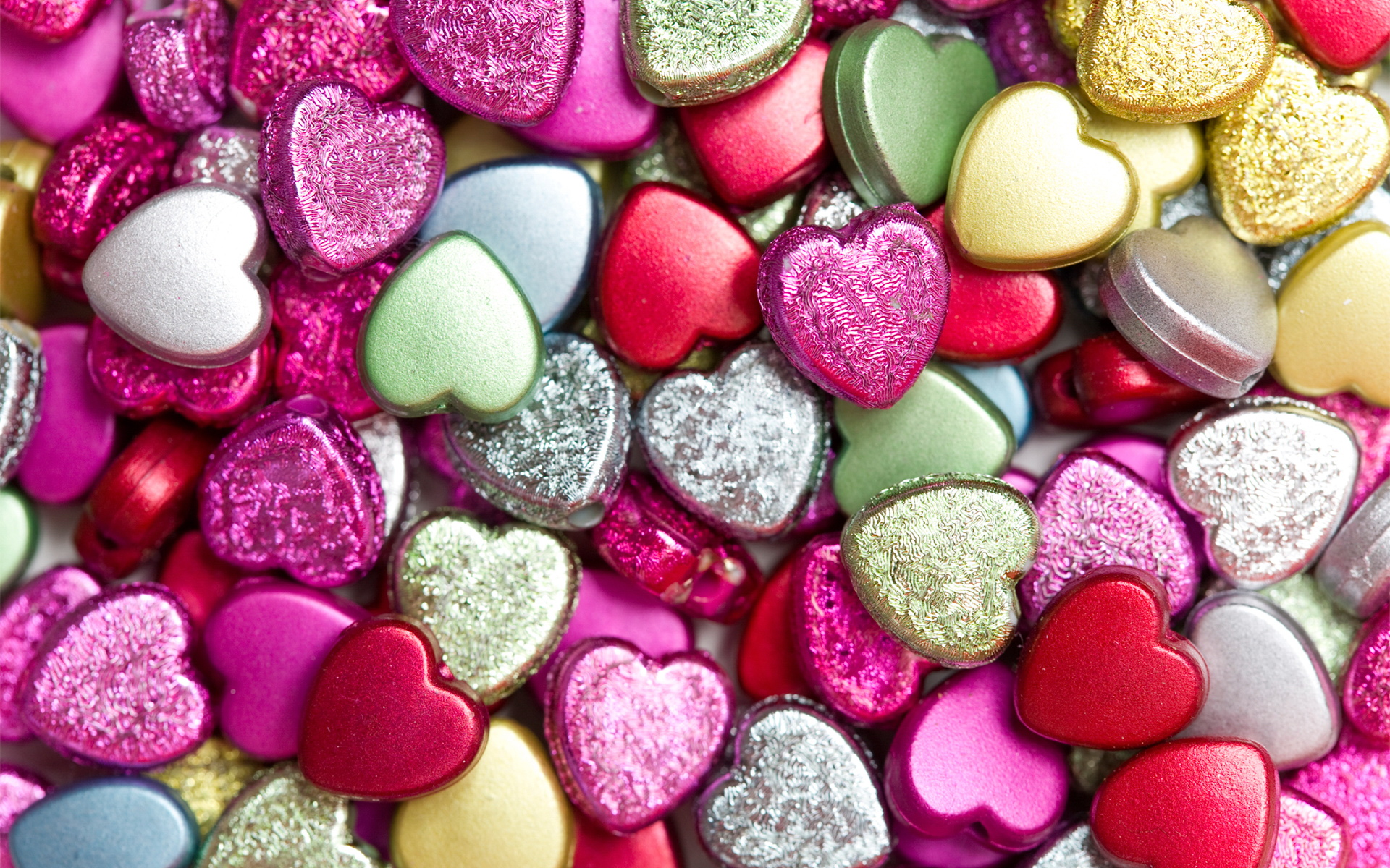 Shapped Candy Heart Sprinkles LOVE