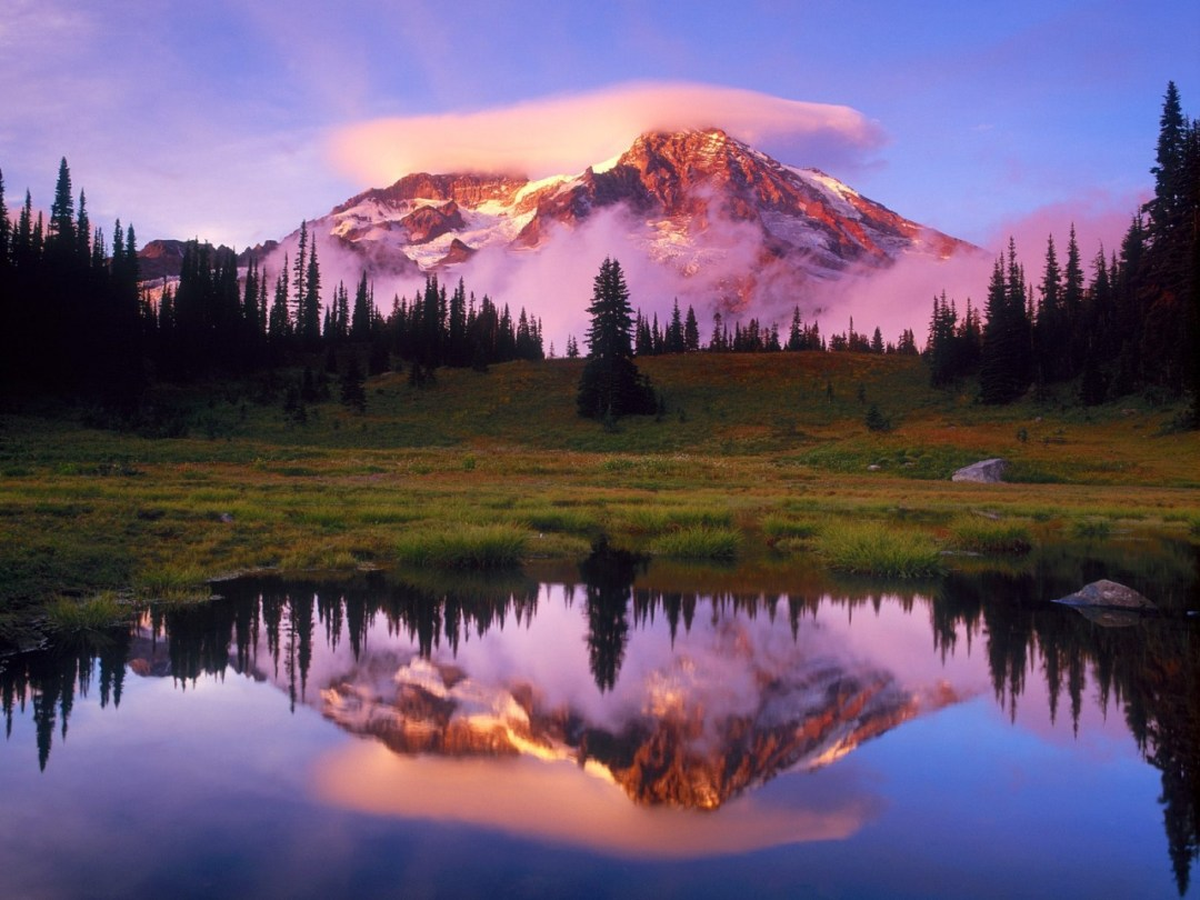 Mount Ranier (photocredit to wallpapers.7savers.com