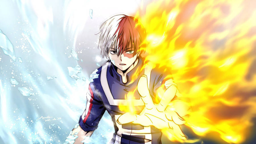Latest post is katsuki bakugo vs. Download Shoto Todoroki Wallpaper TODOROKI SHOTO MY HERO ...