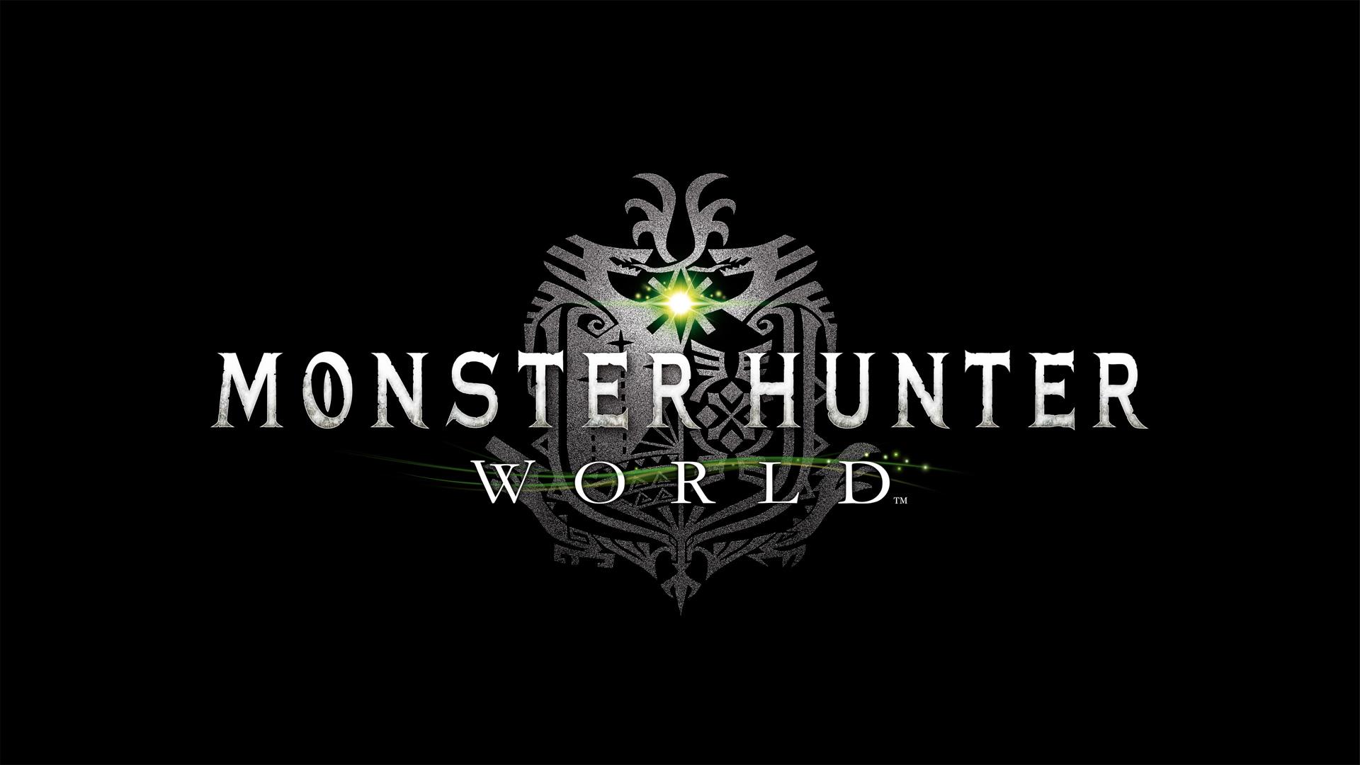 Monster Hunter World Logo Wallpaper From Monster Hunter