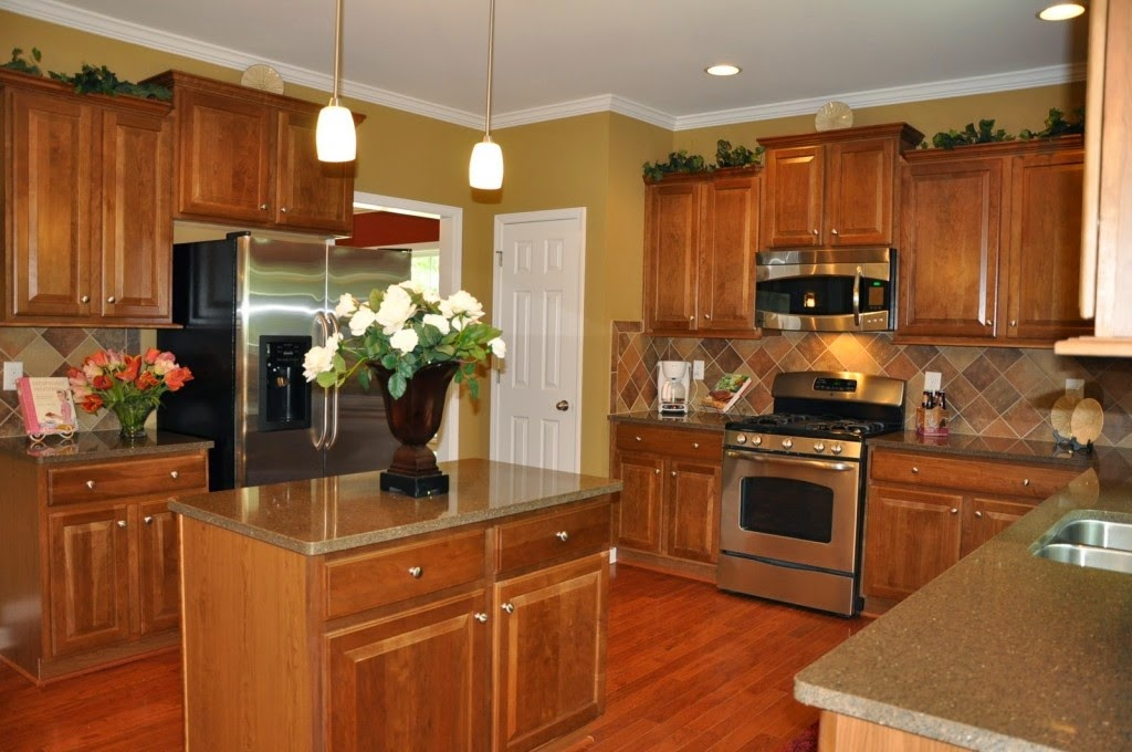 brown-kitchen-interior-design wallpapers | HD Wallpapers on Model Kitchen Picture  id=43290