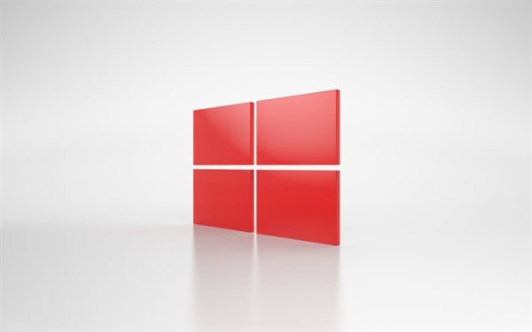Descargar fondos de pantalla windows logotipo rojo