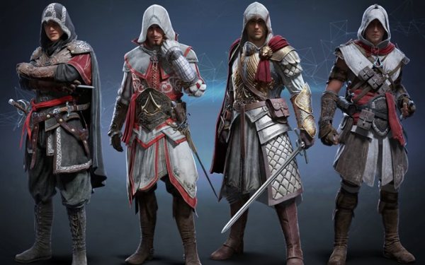Download wallpapers Assassins Creed Identity, characters ...