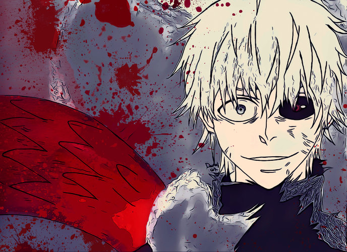 Or home screen for the smartphone or computer awesome collection of tokyo ghoul (anime). Download wallpaper from anime Tokyo Ghoul with tags: Ken ...