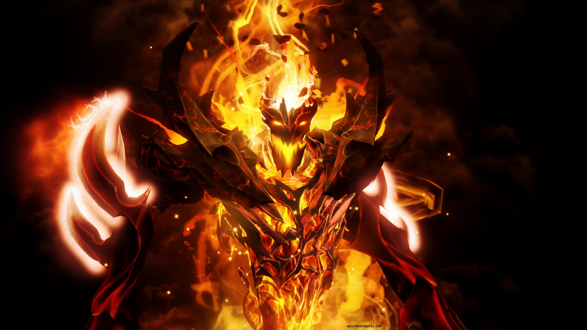 Shadow Fiend 3d Wallpapers Wallpapers Dota 2 Private Collection Background Image