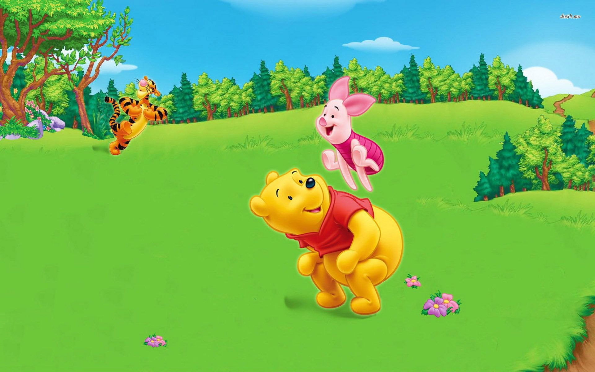 Winnie The Pooh New Year Wallpapers – Merry Christmas And Happy New