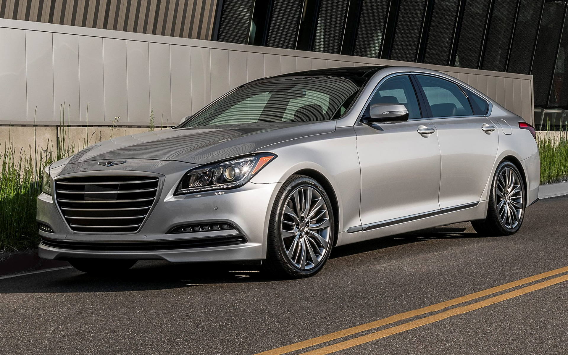 Genesis G80 2017 HD Wallpapers