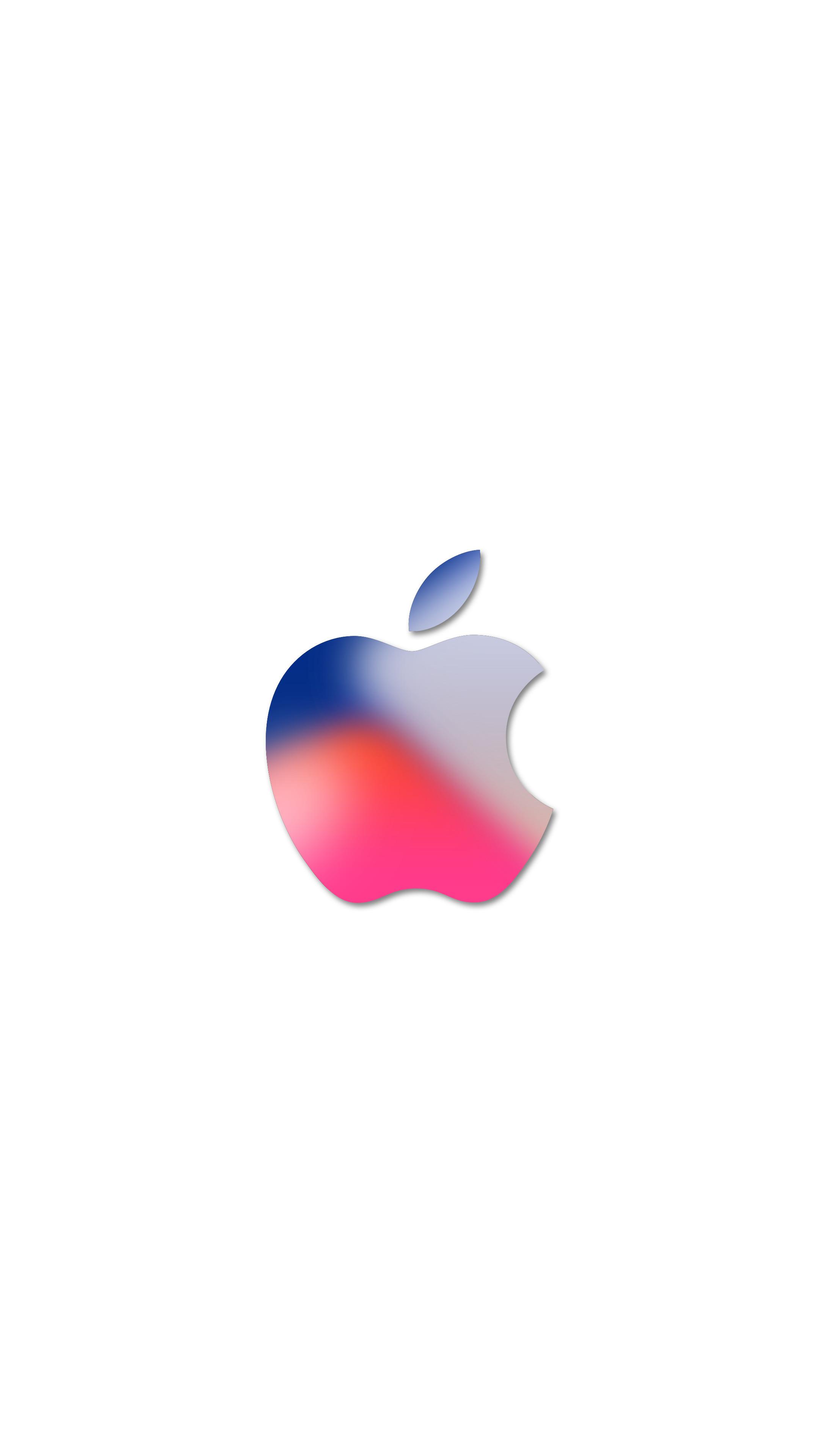 White Apple Logo Wallpaper - Novocom.top