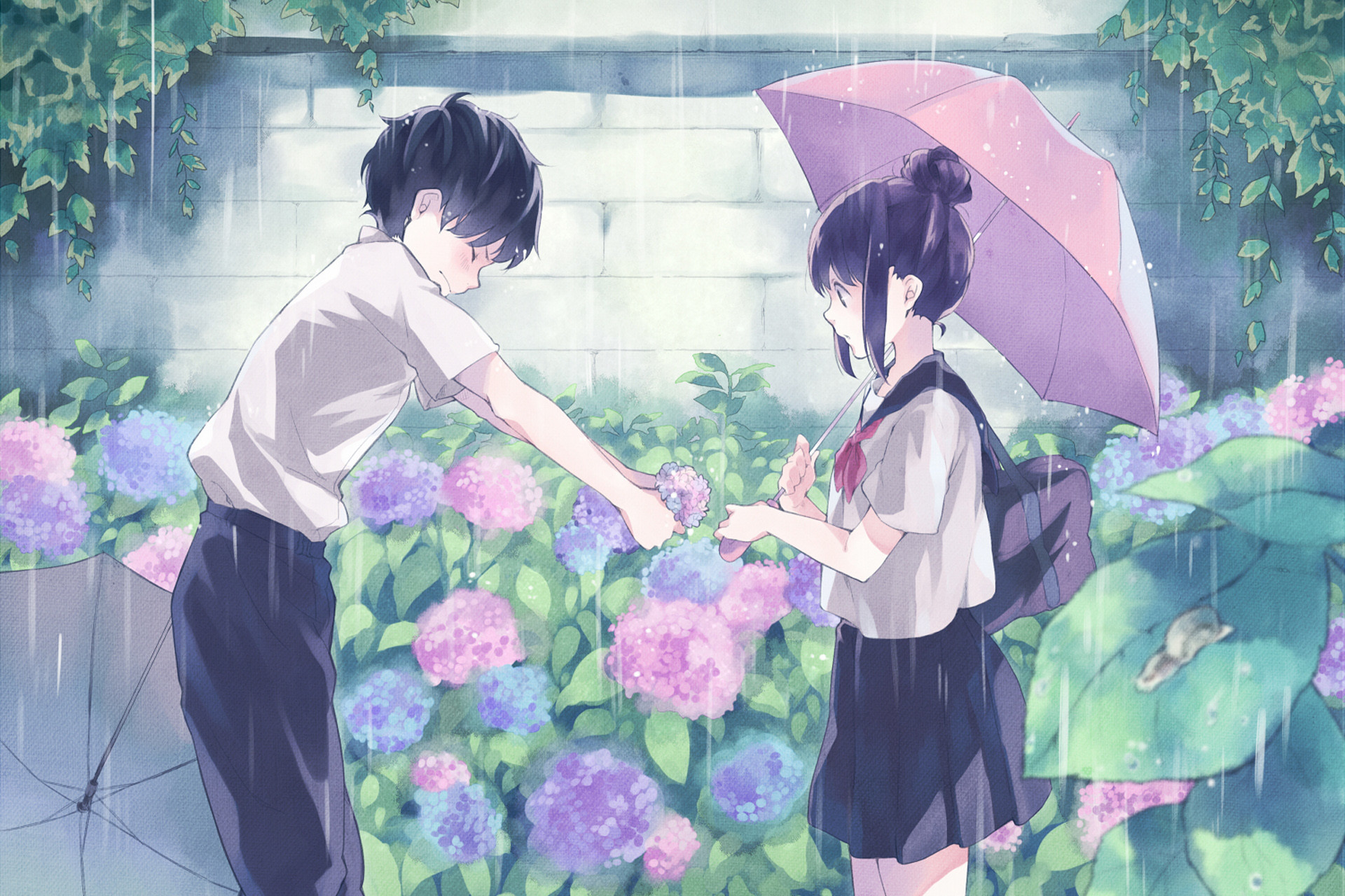 Black car · hd aesthetic wallpapers. Sweet Couple Anime Wallpaper (58+ pictures)
