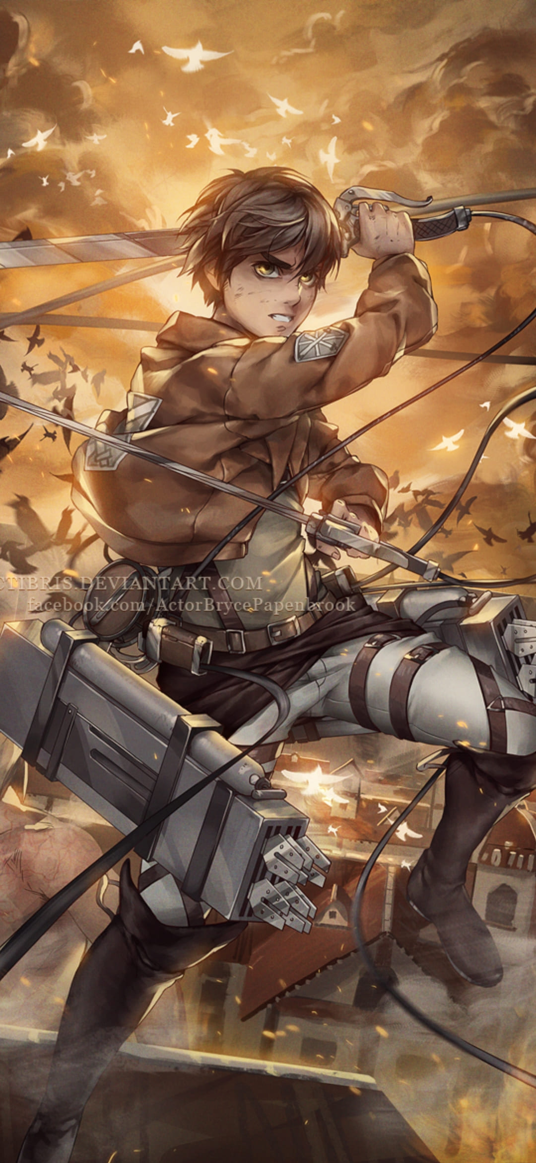 Loading the wrong wallpaper can trigger a. Attack On Titan Phone Wallpaper - Top Free Phone ...